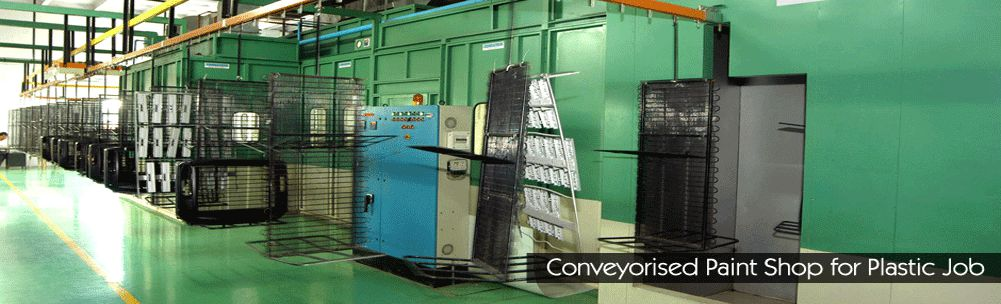 Surface Coating Plants, Water Wash Paint Booths