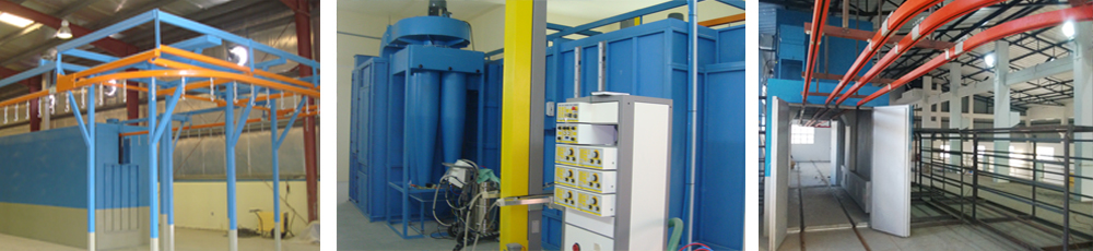 Powder Coating Systems, Conveyrised, Manufacturer, Supplier, India